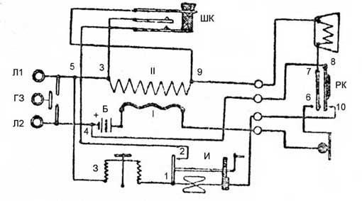 Электрическая схема телефона